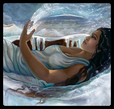 Poliahu, diosa de las montañas nevadas